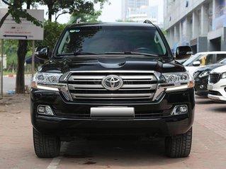 Cần bán Toyota Land Cruiser VX 4.6L sản xuất năm 2016, model 2017, màu đen, nhập khẩu