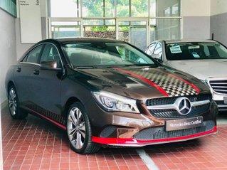 Bán Mercedes CLA 200 màu nâu demo chính hãng Trường Chinh