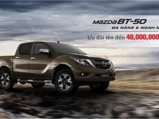 Bán xe Mazda BT 50 2.2 AT khuyến mãi 40tr, trả góp 80% 2019, xe nhập