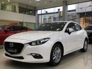 Bán ô tô Mazda 3 sản xuất năm 2019, màu trắng, giá chỉ 649 triệu
