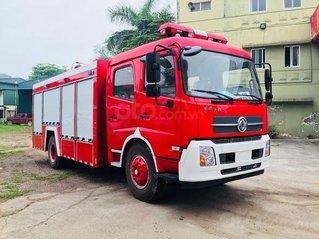 Bán xe cứu hỏa, xe chữa cháy 7 khối Dongfeng nhập khẩu 2021