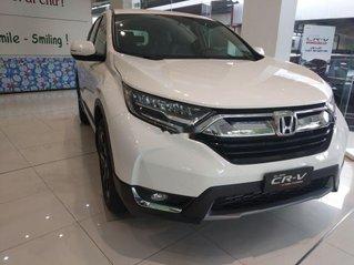 Bán xe Honda CR V 2019, màu trắng, nhập khẩu. Mới hoàn toàn