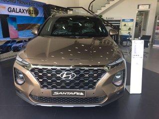 Bán xe Hyundai Santa Fe sản xuất năm 2019, màu nâu vàng