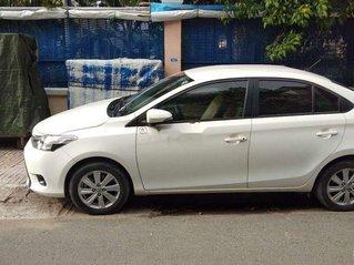 Cần bán Toyota Vios 1.5E 2017, màu trắng còn mới, giá chỉ 460 triệu