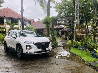 Hyundai Ngọc Phát cần bán Hyundai Santa Fe đời 2019, màu trắng
