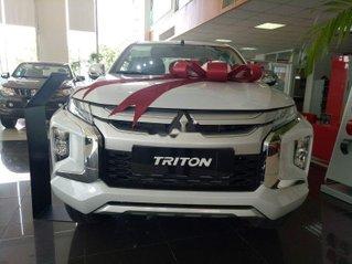 Bán Mitsubishi Triton đời 2019, màu trắng, xe nhập