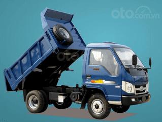 Giá xe Ben Thaco FD250E4 tải trọng 2,49 tấn Trường Hải 2.1m3 ở Hà Nội