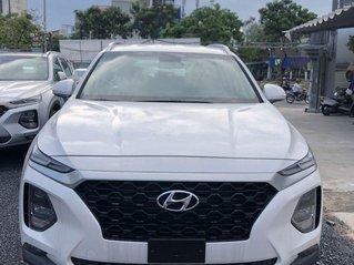 Bán xe Hyundai Santa Fe máy xăng tiêu chuẩn đời 2019, giao nhanh