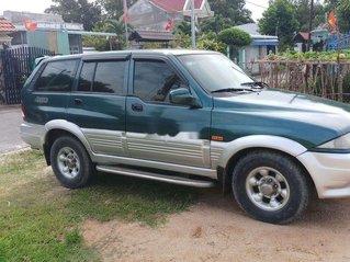 Cần bán xe Ssangyong Musso 1998, màu xanh lam