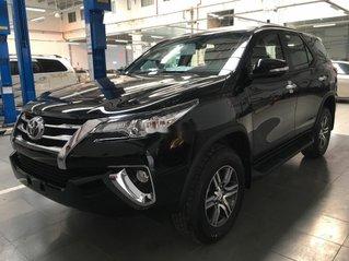 Bán ô tô Toyota Fortuner đời 2019, màu đen, số sàn
