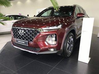 Bán xe Hyundai Santa Fe Premium đời 2020, màu đỏ