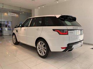 Bán xe Range Rover Sport 2020 màu trắng 7 chỗ nhập khẩu chính hãng mới vừa về VN, xe giao ngay, tặng ngay 1 năm bảo hiểm