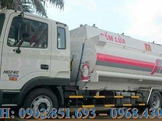 Bán xe bồn Hyundai HD240 21 khối, 22 khối chở xăng dầu, giá tốt