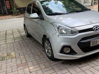 Cần bán Hyundai Grand i10 sản xuất năm 2014, màu bạc, nhập khẩu chính chủ