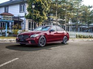 Bán ô tô Mercedes C300 AMG sản xuất 2019, màu đỏ, nhập khẩu nguyên chiếc