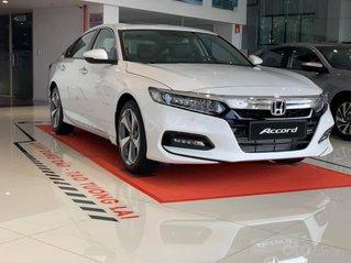 [Đồng Nai] Honda Accord 2020 màu trắng giá 1 tỷ 329 triệu, nhiều ưu đãi, giao ngay, hỗ trợ vay 85%