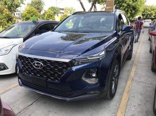 Bán Hyundai Santa Fe cao cấp (Premium) máy dầu  sản xuất năm 2020, màu xanh dương