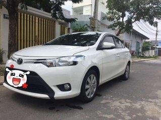 Bán Toyota Vios đời 2016, màu trắng số sàn giá cạnh tranh