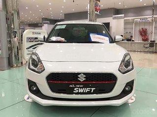 Bán xe Suzuki Swift GLX 1.2 AT năm 2019, màu trắng, xe nhập, mới hoàn toàn