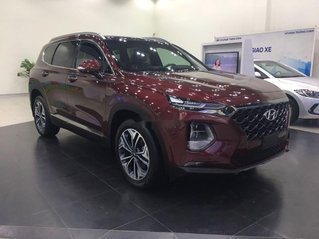 Cần bán xe Hyundai Santa Fe năm sản xuất 2019, màu đỏ