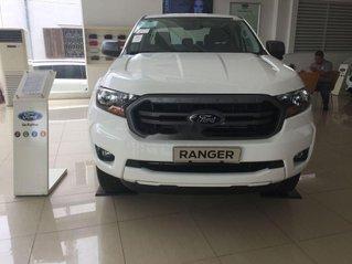 Bán Ford Ranger sản xuất 2019, màu trắng, nhập khẩu, sẵn xe, giao ngay