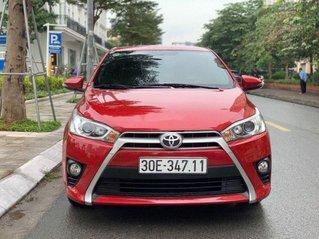 Cần bán xe Toyota Yaris 2016, màu đỏ, nhập khẩu nguyên chiếc còn mới