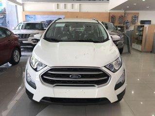 Bán Ford EcoSport Trend sản xuất 2019, màu trắng. Ưu đãi hấp dẫn