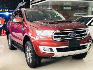 Cần bán xe Ford Everest đời 2019, màu đỏ, nhập khẩu