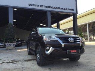 Bán Toyota Fortuner đời 2018, màu nâu, xe nhập, máy dầu tự động