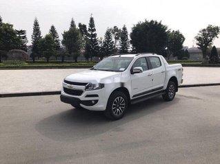Bán Chevrolet Colorado đời 2019, màu trắng, bản full, nhập Thái, sẵn xe