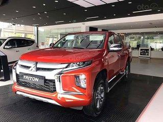 Bán xe Mitsubishi Triton 4x2 AT Mivec sản xuất năm 2019, màu đỏ, nhập khẩu, mới hoàn toàn