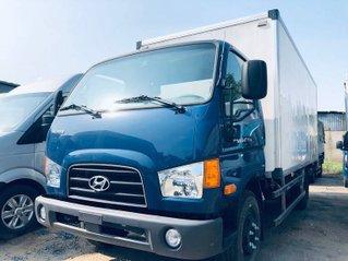 Bán xe Hyundai Mighty 110S 2019, màu xanh lam, thùng kín