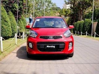 Bán Kia Morning MT bản têu chuẩn sản xuất 2019, màu đỏ, giao xe nhanh