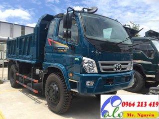 Bán xe Thaco Forland xe ben 8 tấn 2 cầu sản xuất 2019, có sẵn xe, giá ưu đãi