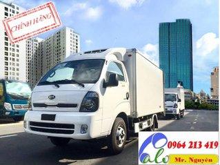 Bán Thaco Kia thùng đông lạnh sản xuất 2019, màu trắng, nhập khẩu nguyên chiếc