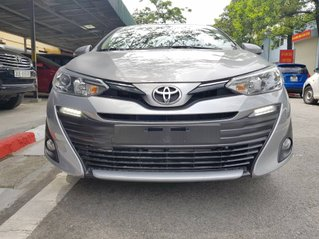 Cần bán Toyota Vios G 1.5 CVT sản xuất năm 2019, màu bạc, giao nhanh toàn quốc