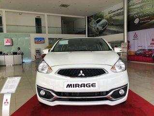 Cần bán Mitsubishi Mirage CVT năm 2019, màu trắng, nhập khẩu Thái