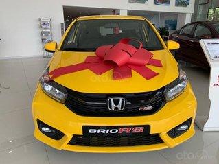 Honda Brio RS Đồng Nai, giá lăn bánh trả trước 140tr, góp 8tr/tháng, giao ngay, đủ màu