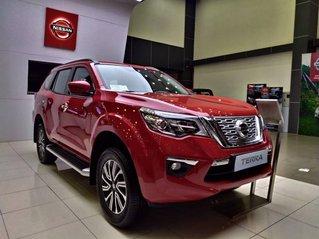 Nissan Gò Vấp cần bán xe Nissan Terra V đời 2019, màu đỏ