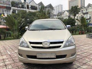 Bán Toyota Innova năm sản xuất 2008, màu ghi vàng, chính chủ