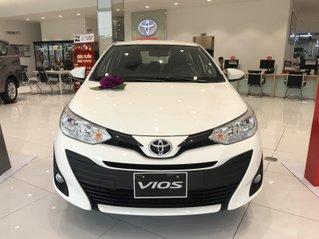 Xe Toyota Vios 1.5E CVT, khuyến mãi lớn, giảm tiền mặt hoặc tặng bảo hiểm thân vỏ, LH để nhận báo giá cạnh tranh tốt