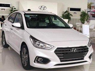 Hyundai Accent 2020, màu trắng - đỏ, giao ngay