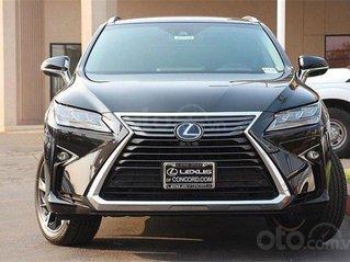 Cần bán Lexus RX 450h full option SX 2019, màu đen, nhập khẩu Mỹ