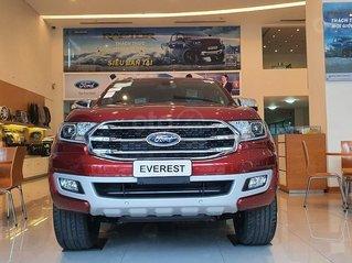 Hà Nội - bán Ford Everest 2020 full led, bản Titanium một cầu giá hấp dẫn, xe mới 100%