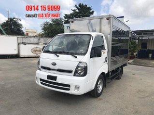 [Thaco Bình Dương] Bán xe tải Thaco Kia K200 thùng kín, động cơ Hyundai D4CB, trả trước 110tr nhận xe