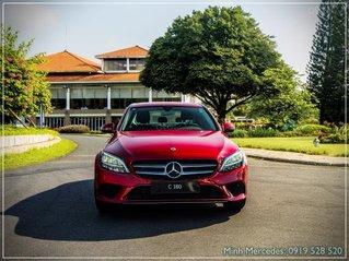 Mercedes-Benz C180 New chỉ 349tr - nhận xe ngay - bank hỗ trợ 80% - tặng 100% thuế trước bạ