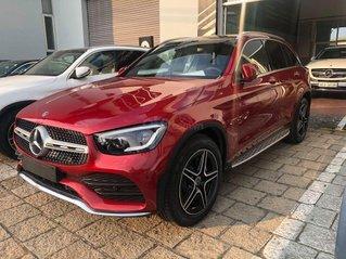 2021 new Mercedes-Benz GLC 300 4matic - màu đỏ giao ngay - ưu đãi tốt - bank hỗ trợ vay 80%