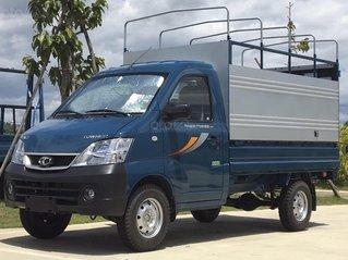 Xe tải nhẹ Thaco Towner 990 kg, động cơ Suzuki, thùng dài 2.6m, có điều hòa cabin. Hỗ trợ vay 70%, chỉ 70tr là lấy xe