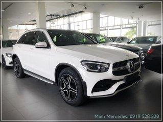 Mercedes-Benz GLC 300 4MATIC New 2021, xe gia đình 5 chỗ hàng đầu -trả trước 750 triệu - bank hỗ trợ 80%