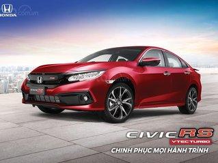 [Honda Civic RS 1.5RSTurbo đỏ 2020] KM TM+ phụ kiện, giao xe toàn quốc, hỗ trợ vay bank 85%